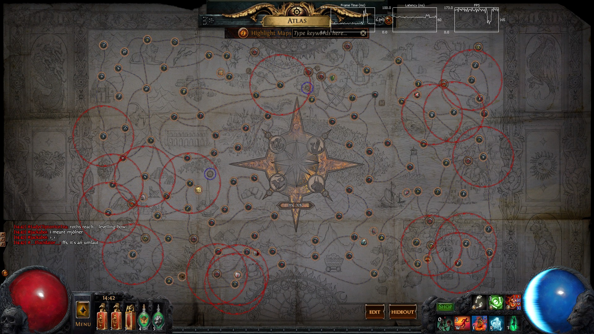Forum   Help and Information   atlas 125/126?   Path of Exile
