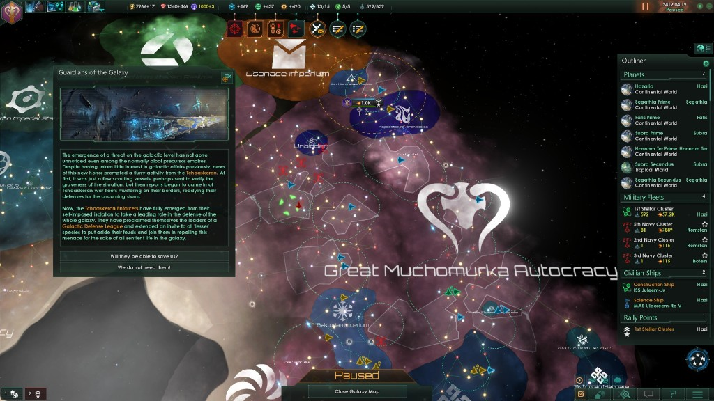 stellaris how to receive a gift from fallen empire