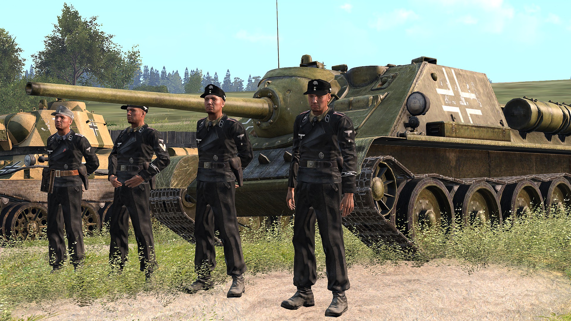 GEISTA3L - A pack of uniforms and vehicles textures for IFA3