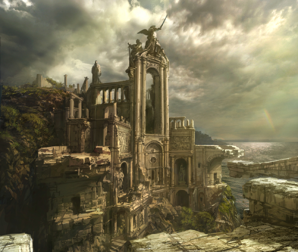 castle concept art by - photo #26