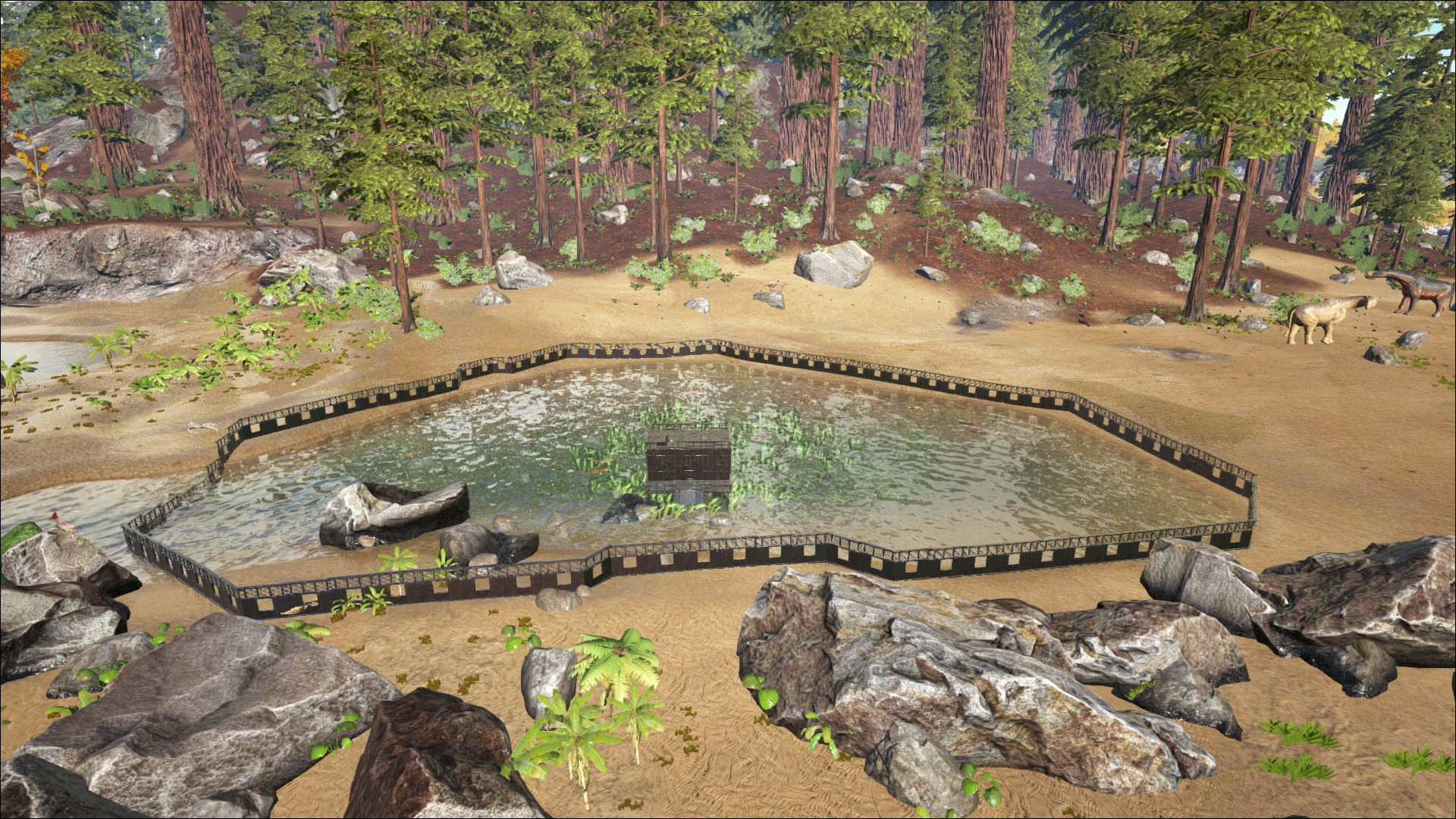 Ark Karte The Island.Best Fishing Spots On The Island General Discussion Ark