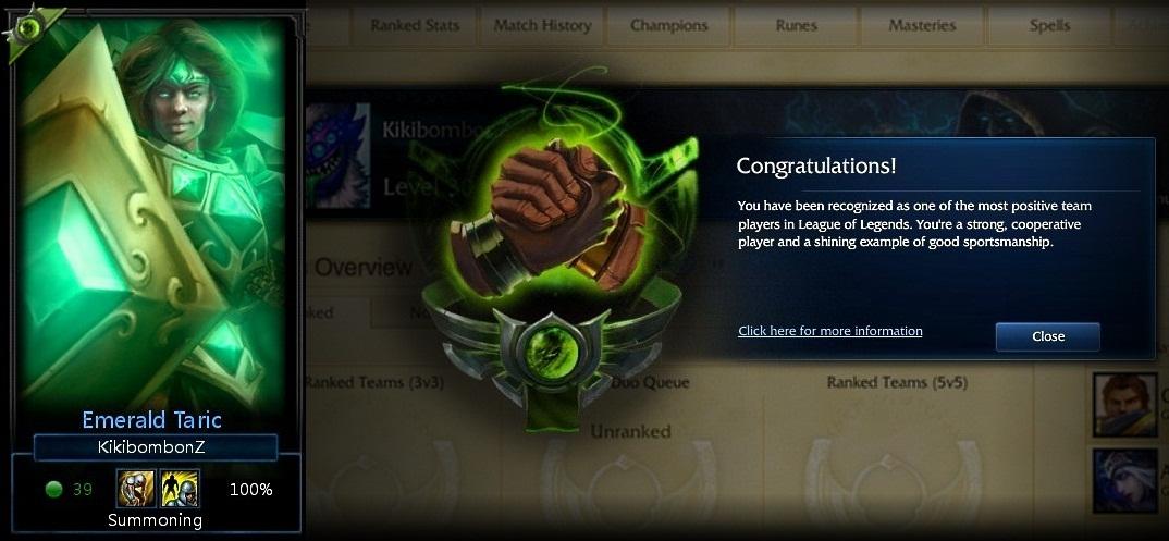 1000  Teamwork honor! No ribbon :-(
