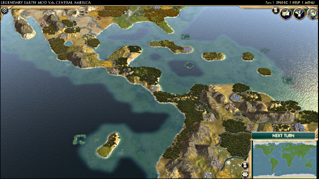 Steam Workshop Legendary Earth Mod – Civ 5 World Map