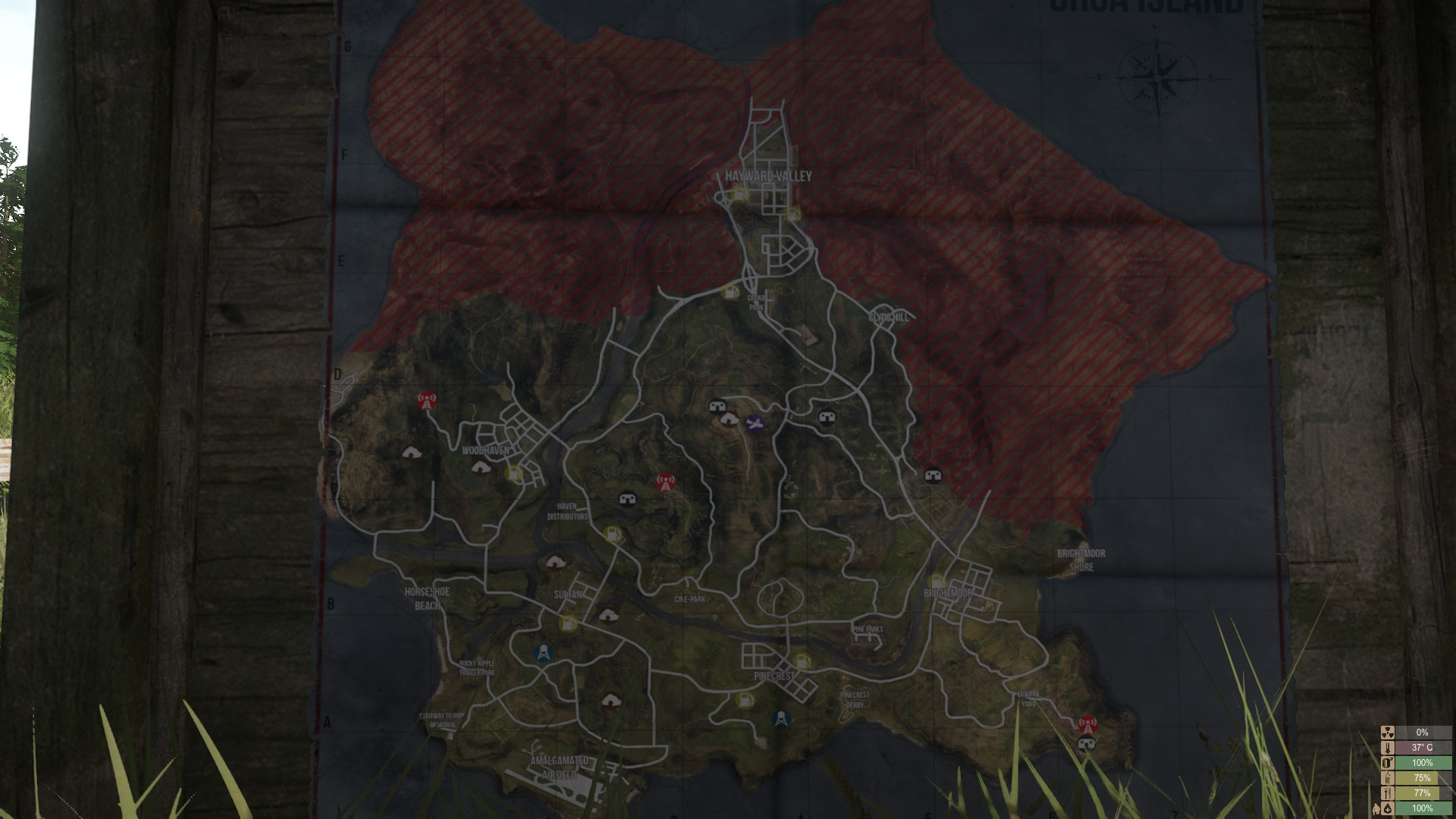 Miscreated Karte.Community Diskussion Map Der Orca Island