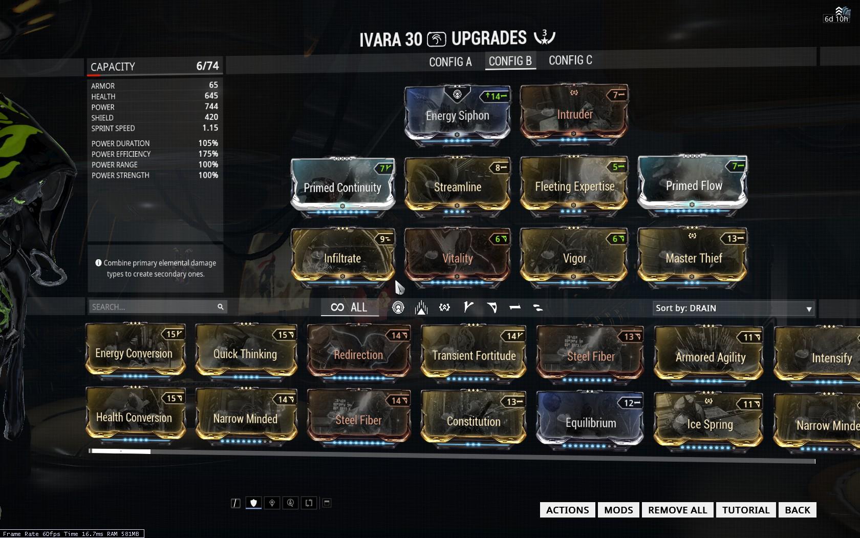 Best Ivara Dagger Build