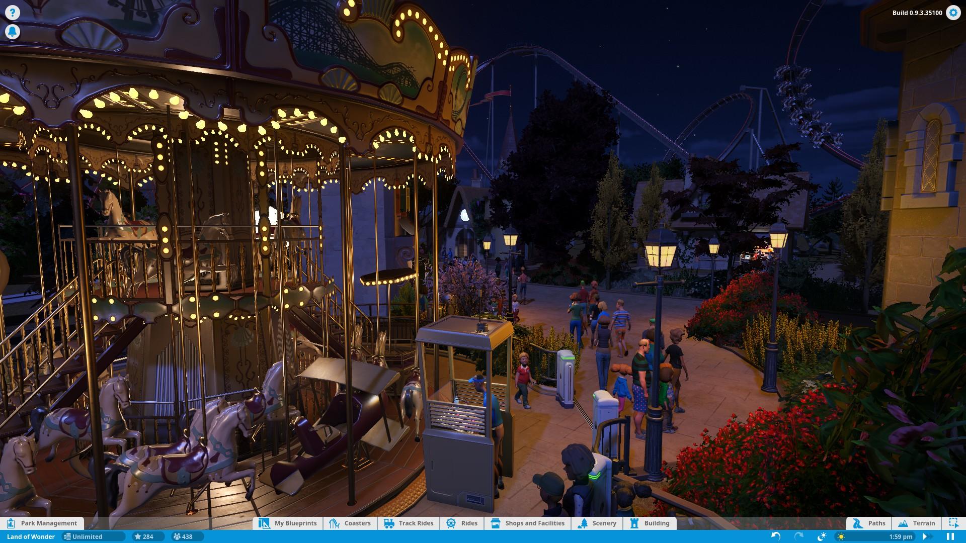 Planet Coaster screenshot