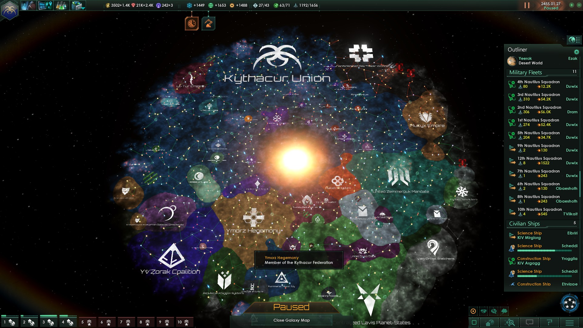 Stellaris: Paradoxian Space Stategy  - Page 25