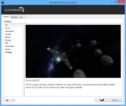how to add games with launcher to steam