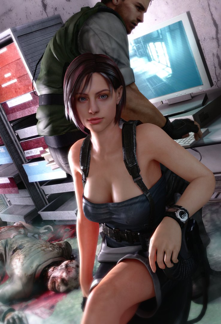 Jill valentine cosplay topless hentai galleries