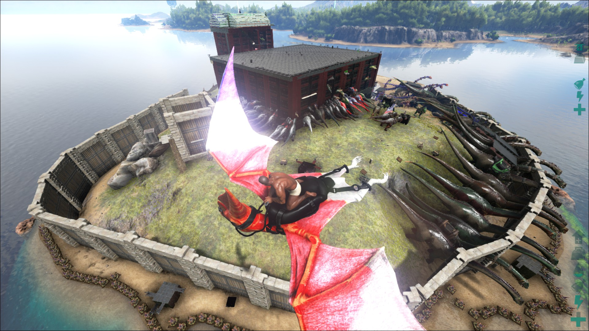 how to make the best base in ark