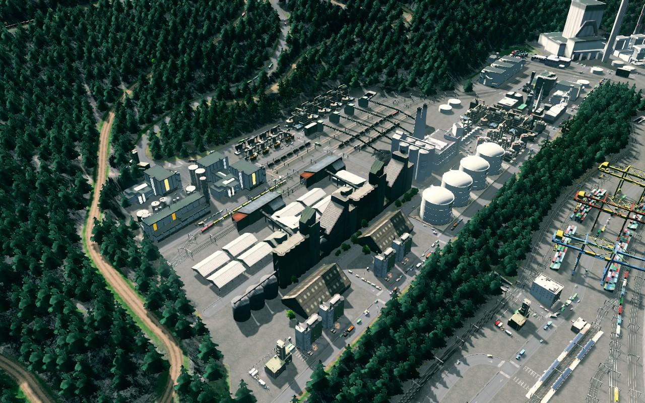 image Complexe industriel majeur