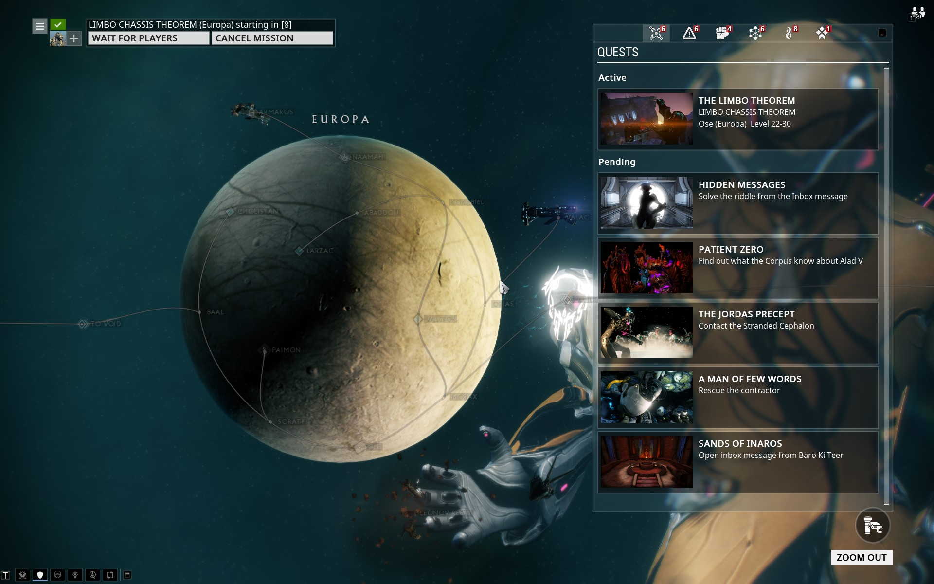 Limbo Systems Excavation Mission Warframe Forums In order to figure everything out, it is essential that you know the whereabouts of the mirage and the various parts of the craft that can later be created in order to build the warframe pieces by pieces. warframe forums