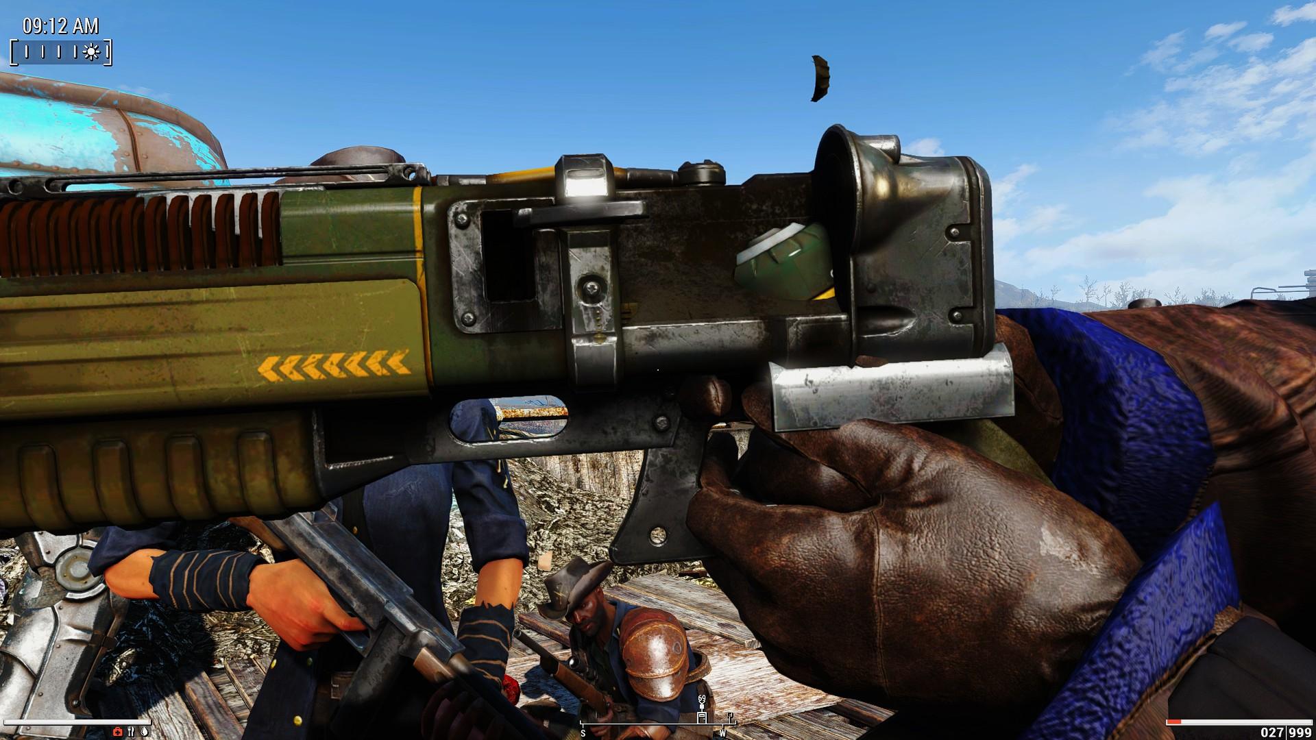 FO4  Laser Pistol mesh Glitch 94725E855A85D252BECD47F4B5C6CCCB124E8721