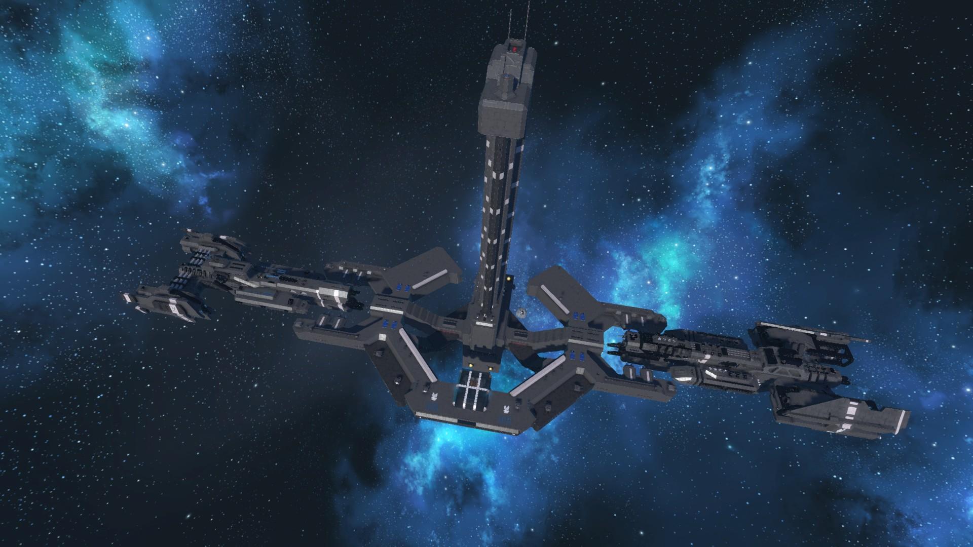 huge unsc space station-#41