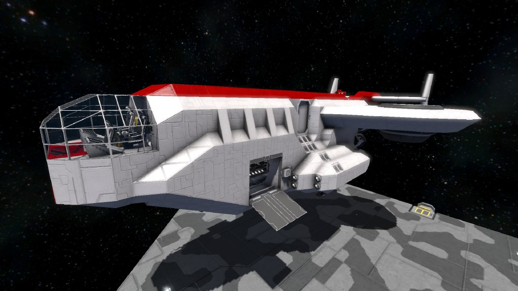 Space Engineers How To Build A Ship From Projector