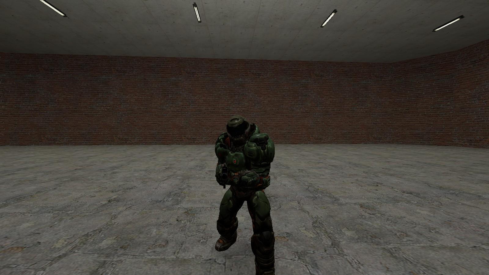 Doom guy (2016) player model | SGM Community (Serious GMod)