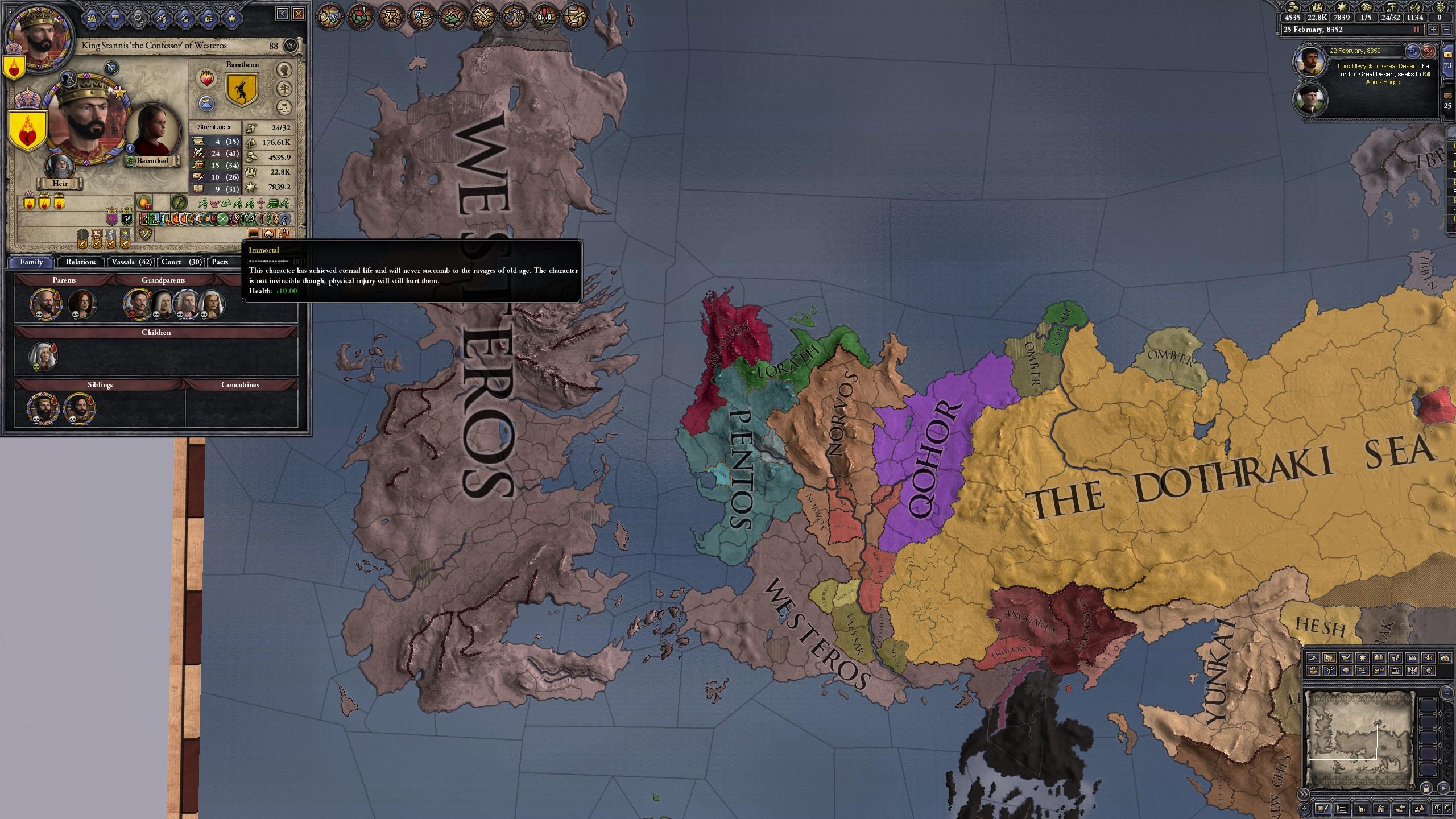 King Stannis the Eternal : CK2GameOfthrones