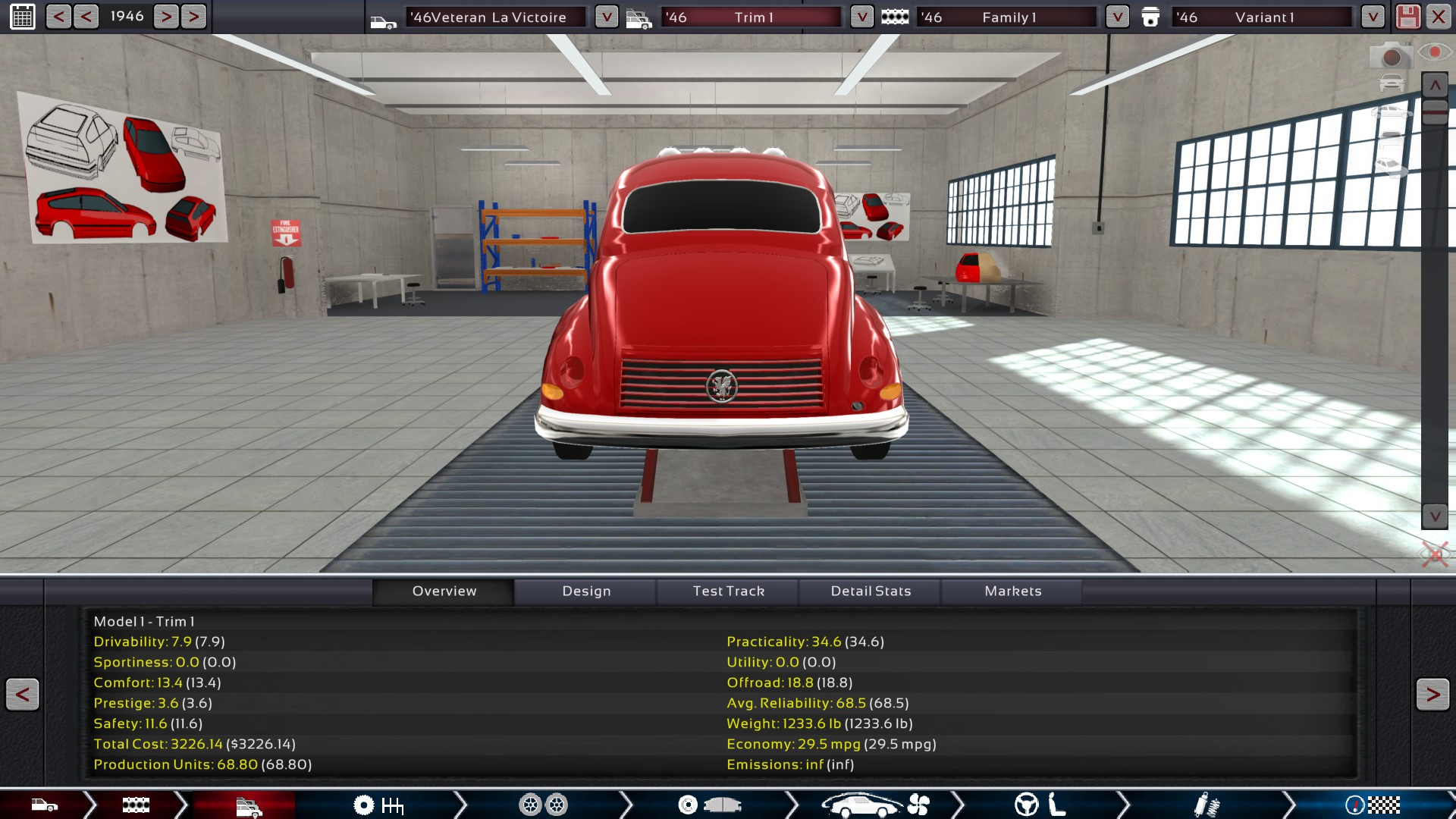 Car Builder Game: Cars Of Automation - The Car Company Tycoon Game