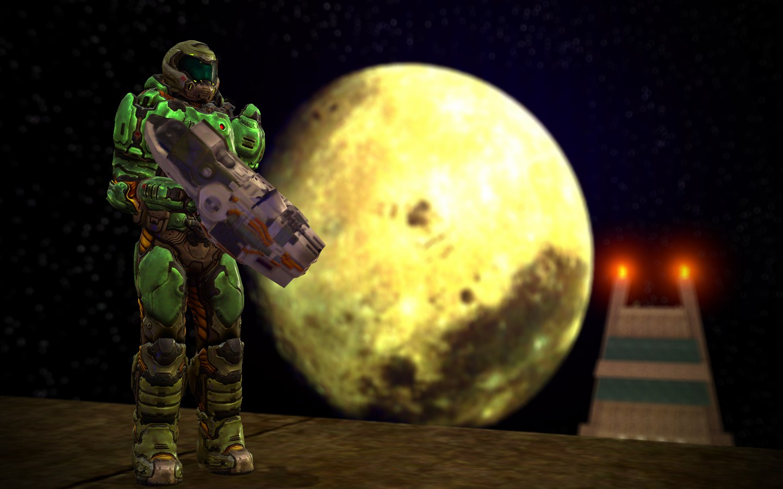 Doom guy (2016) player model   SGM Community (Serious GMod)