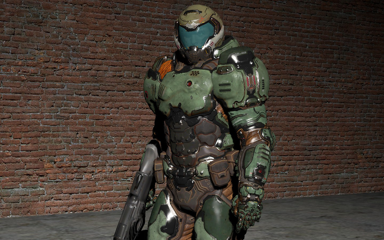 Doom guy (2016) player model | SGM Community (Serious