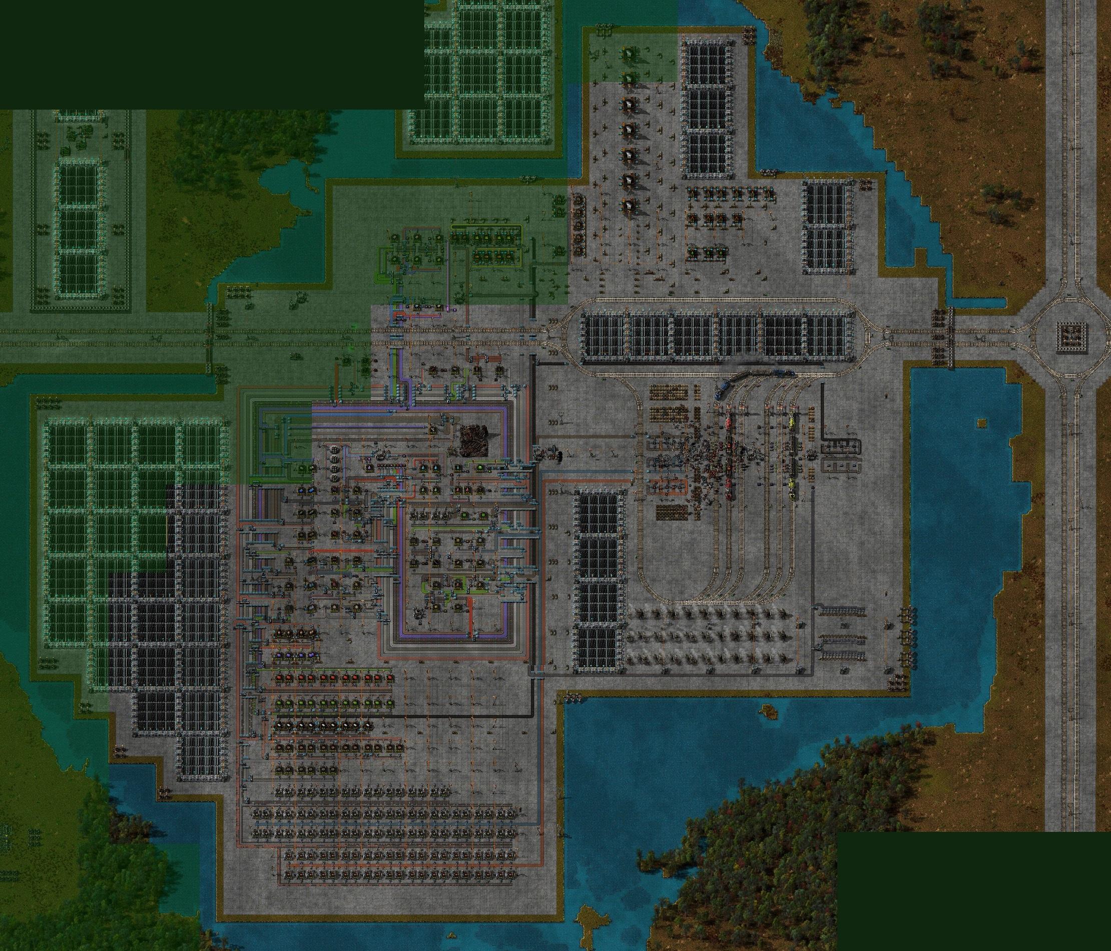 Factorio Island Map