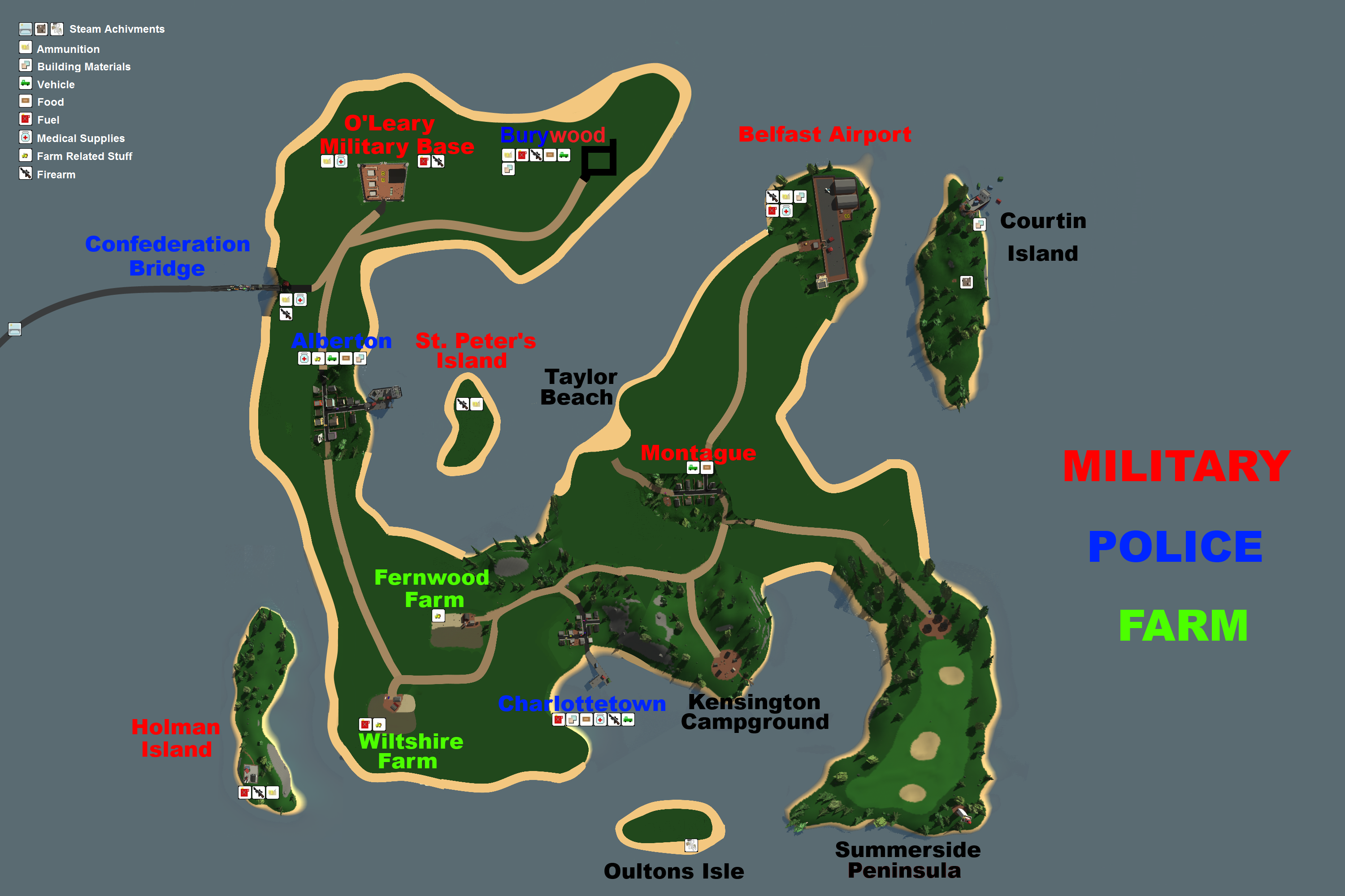 Steam community guide pei map Good house map