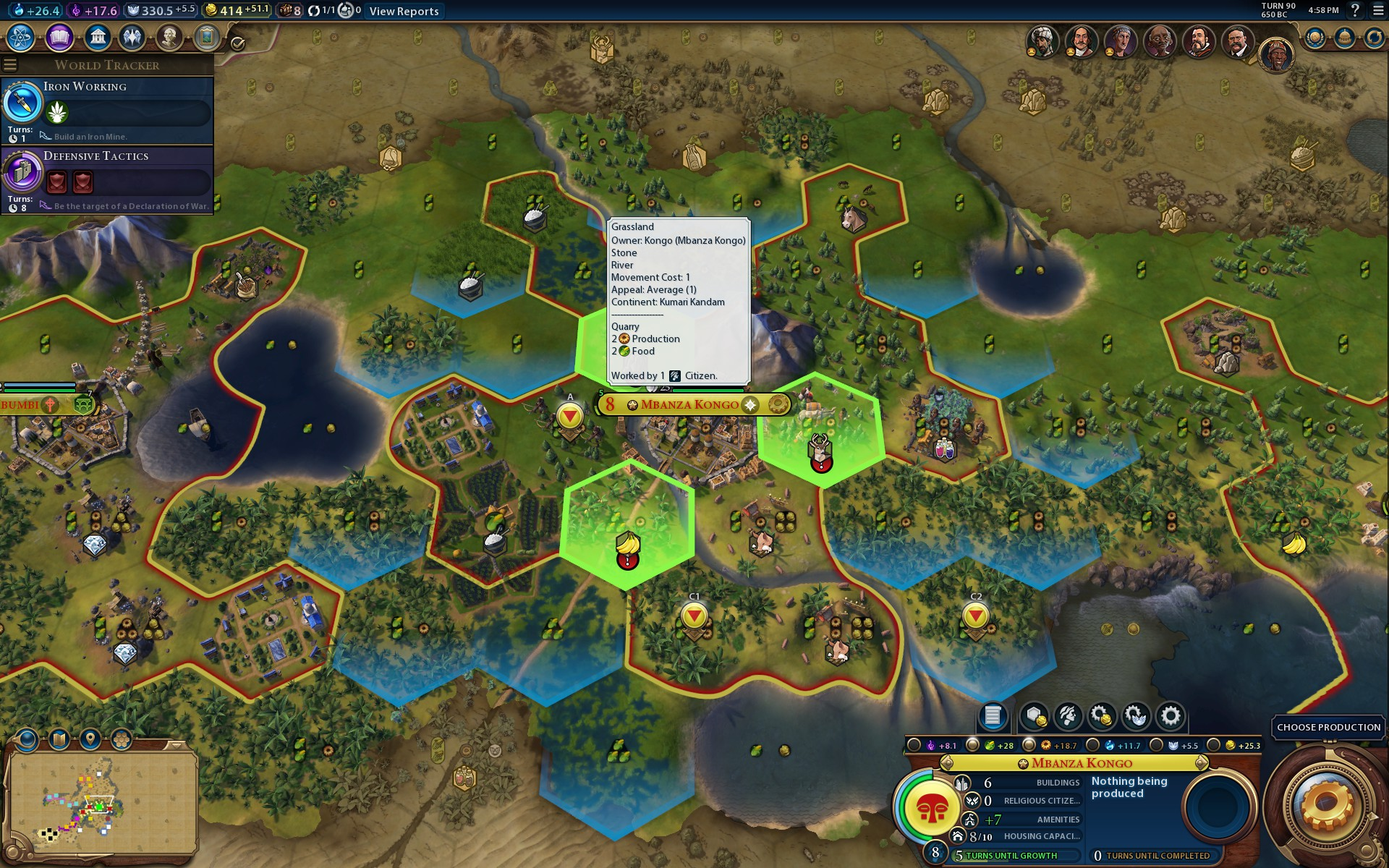 Why can't I place an aqueduct here? | CivFanatics Forums