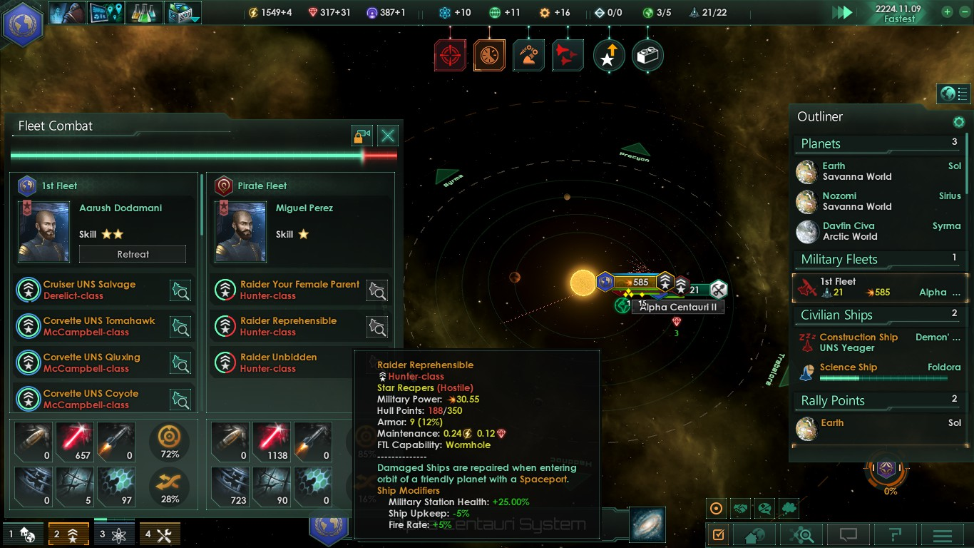 These pirate ship names are fantastic : Stellaris