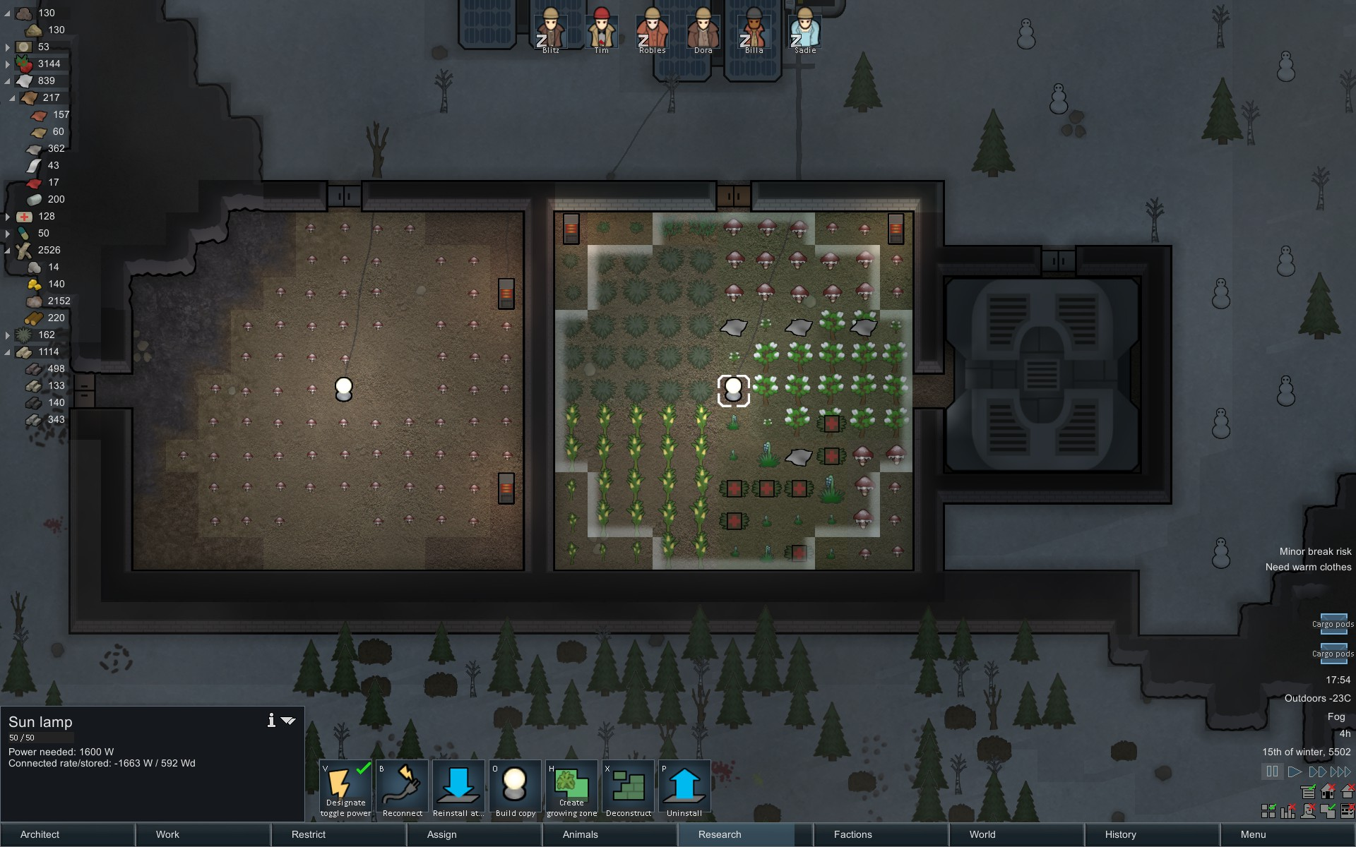 Ice Sheet/Tundra economy : RimWorld