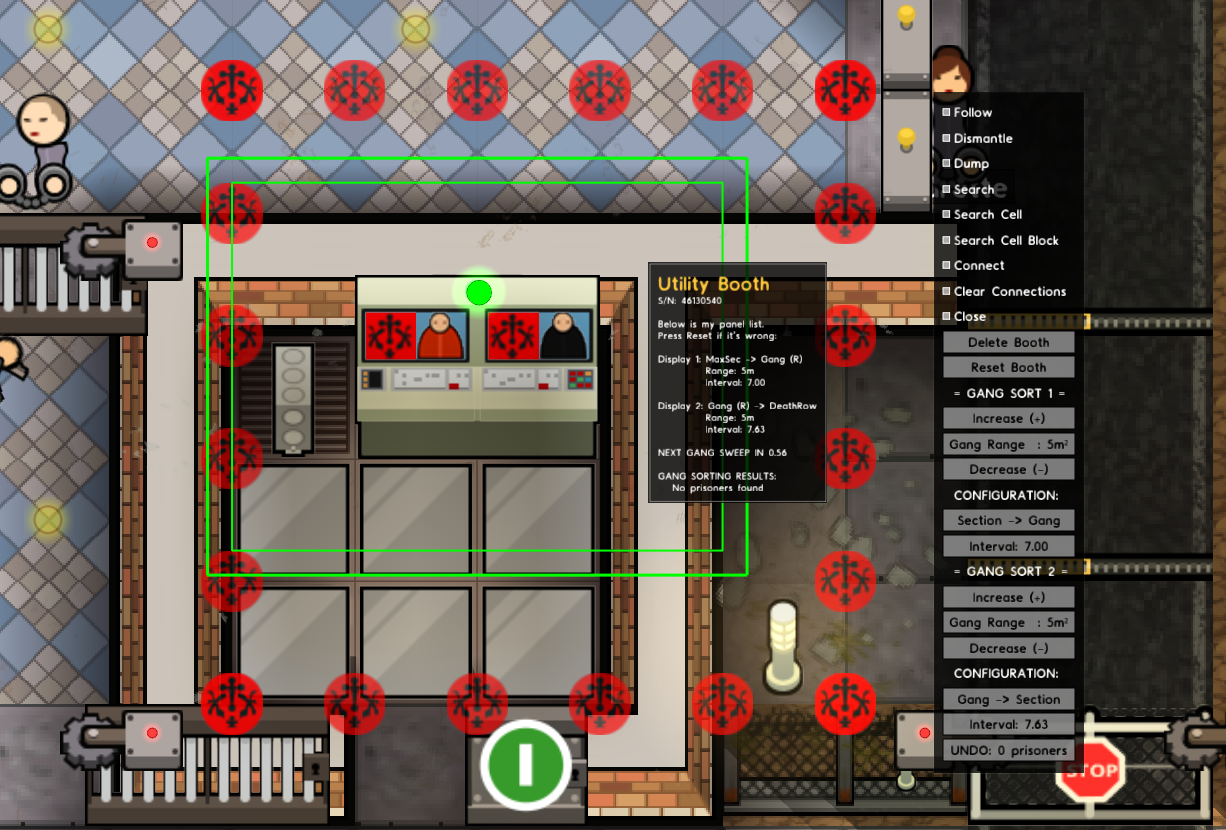 Mod Customizable Control Booths V140 Stable Introversion Howto Your Sprinklers With X10 Commands Howto39s Evac Alarm Booth Will Show Range And Which People It Evacuates By Using The Panel Sprite As You Can See Barely Missed 2
