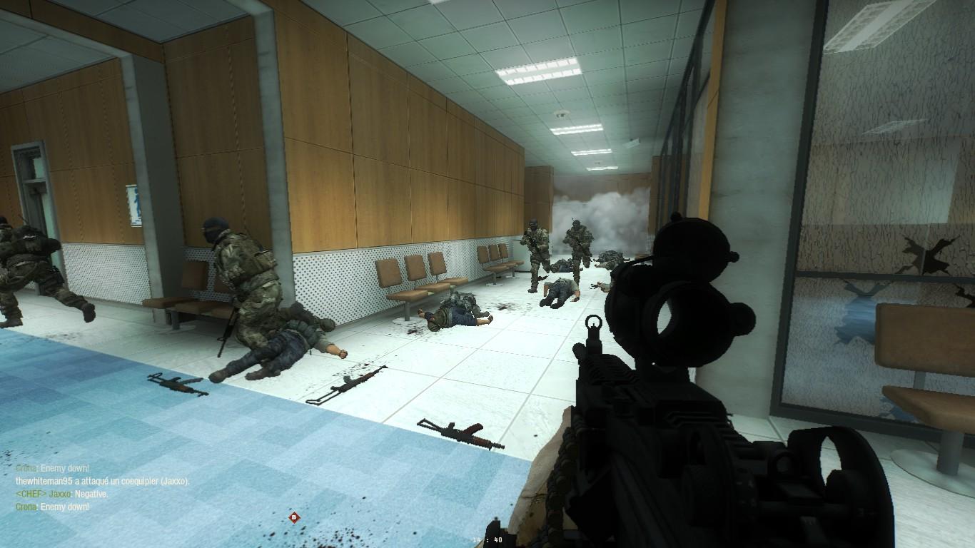 Le passage des textures dans le jeu
