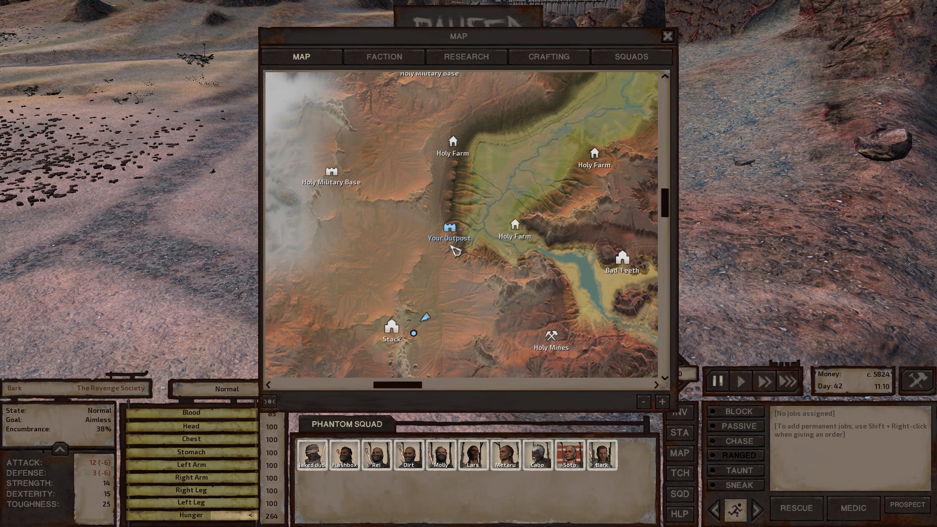 Place to build on new map :: Kenshi General Discussions