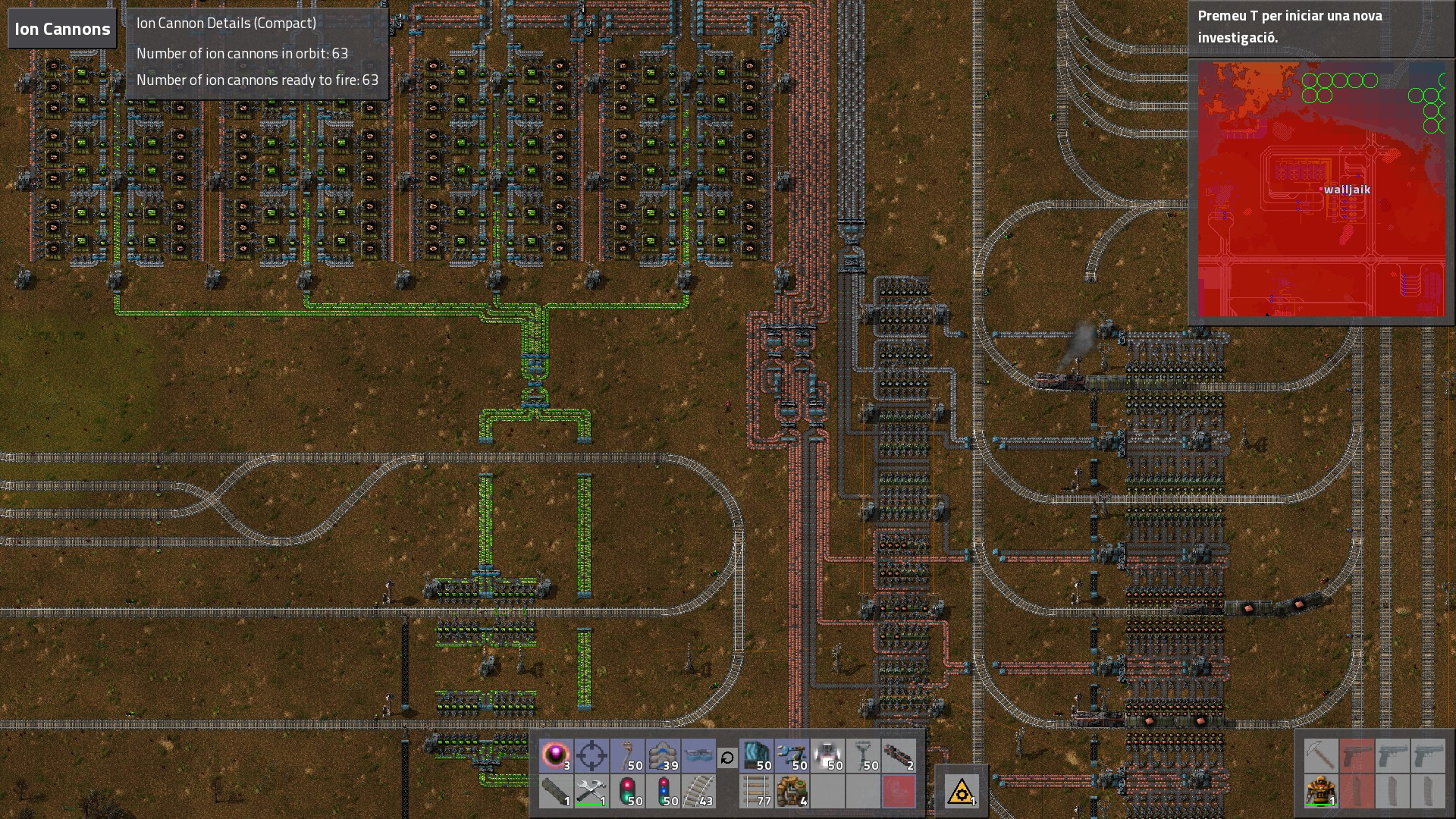 I Haven't Seen Any Bigger Train Base Than This One