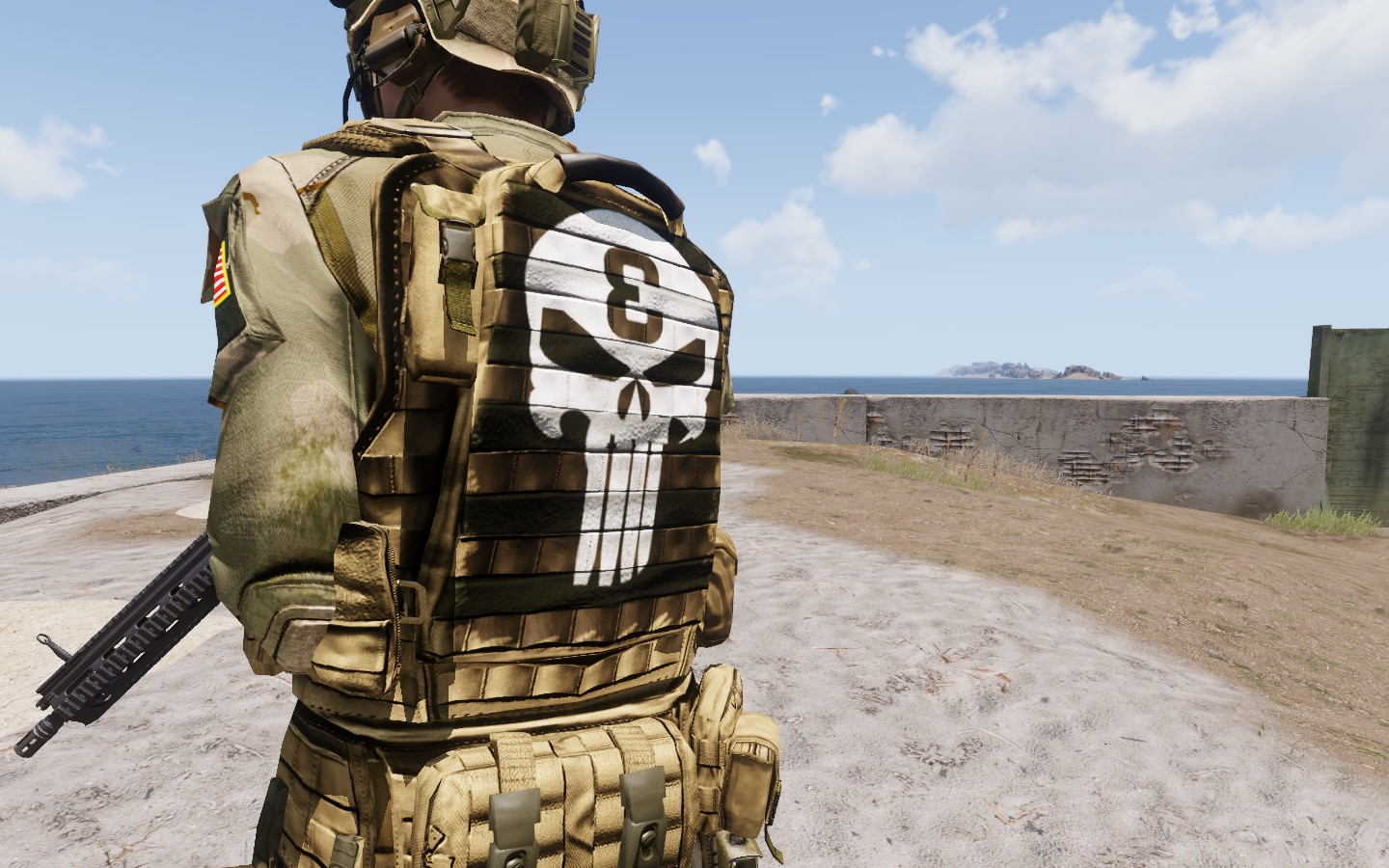 NAVY SEAL THE PUNISHER & NAVY SEAL SPARTAN (TEXTURE HD