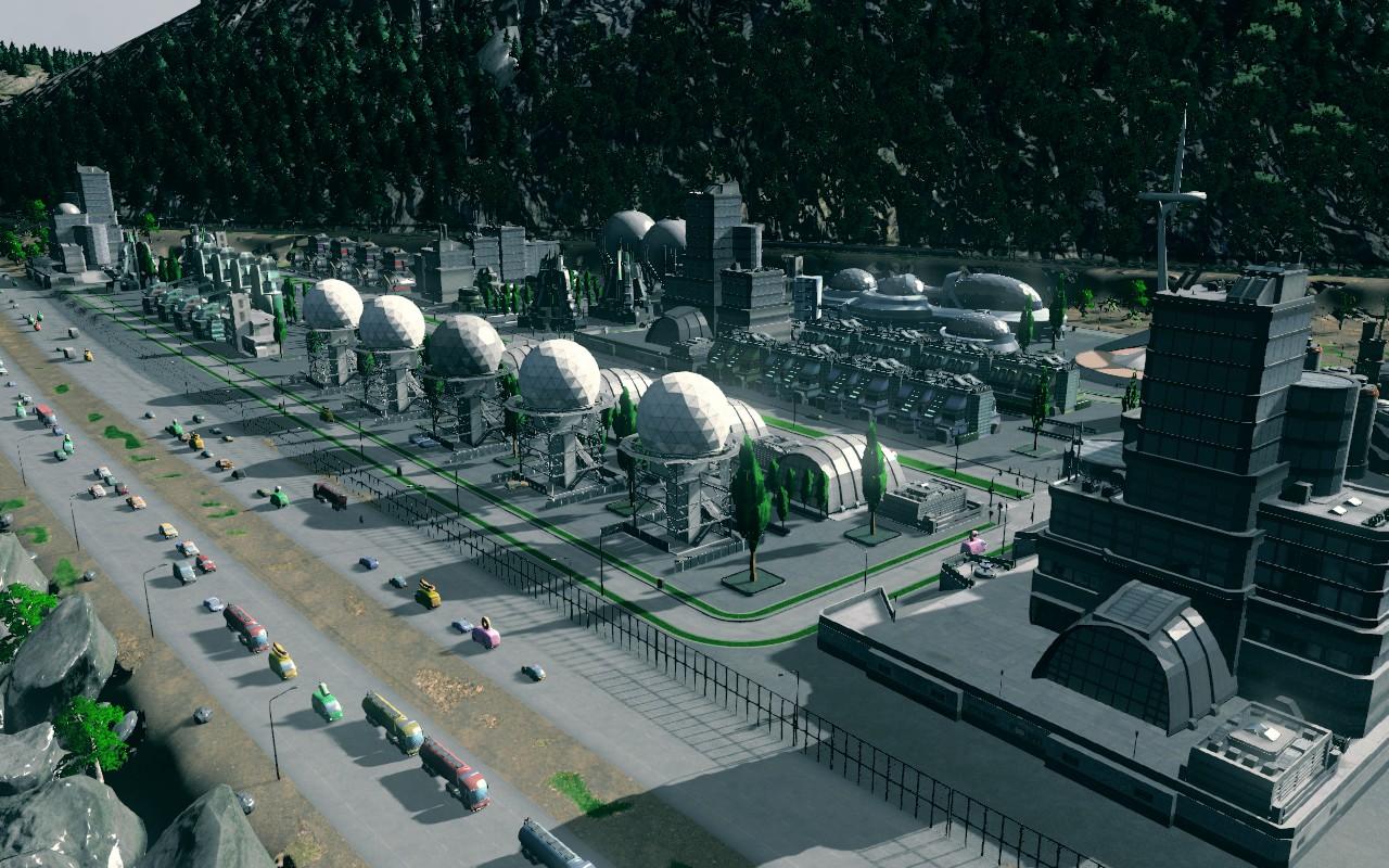 image Grande zone industrielle hightech