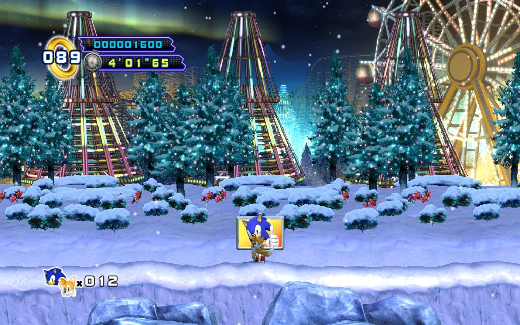 Sonic the hedgehog 4 episode 2 sky fortress act 3 / The