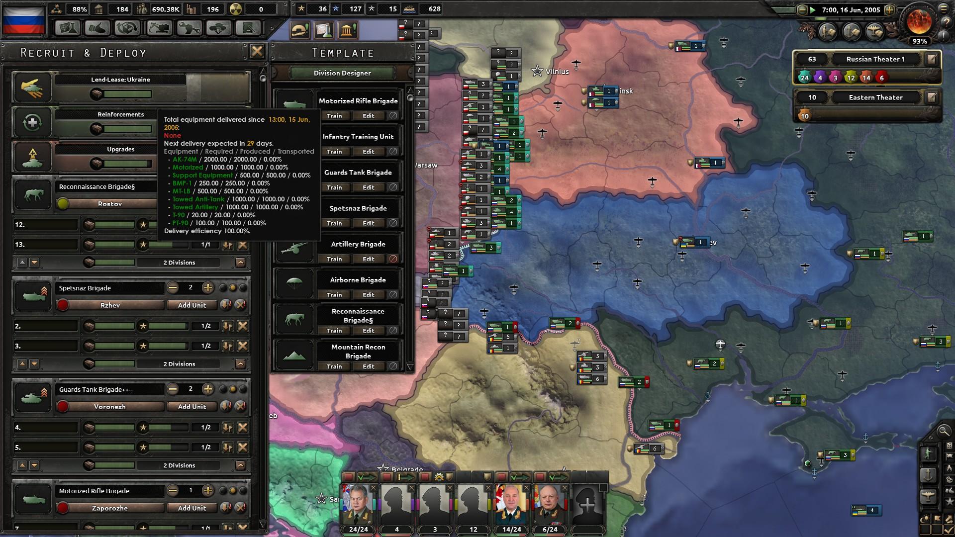 I hope Ukraine appreciates my gift [Millenium dawn mod] : hoi4