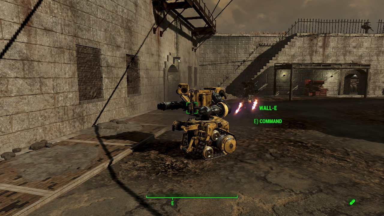 My best attempt at making WALL-E in Fallout 4 : fo4