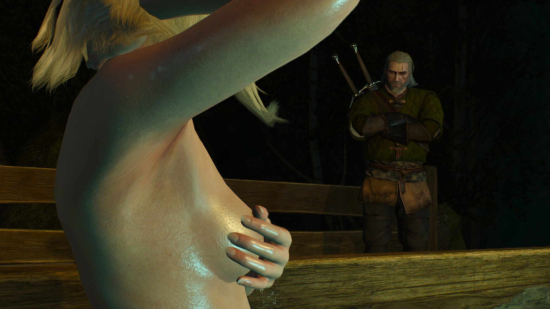 the witcher uncensored sex
