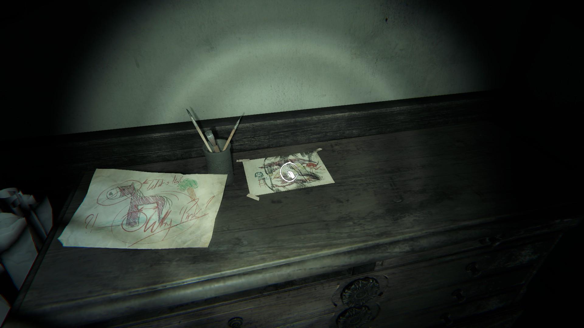 рисунок на камоде
