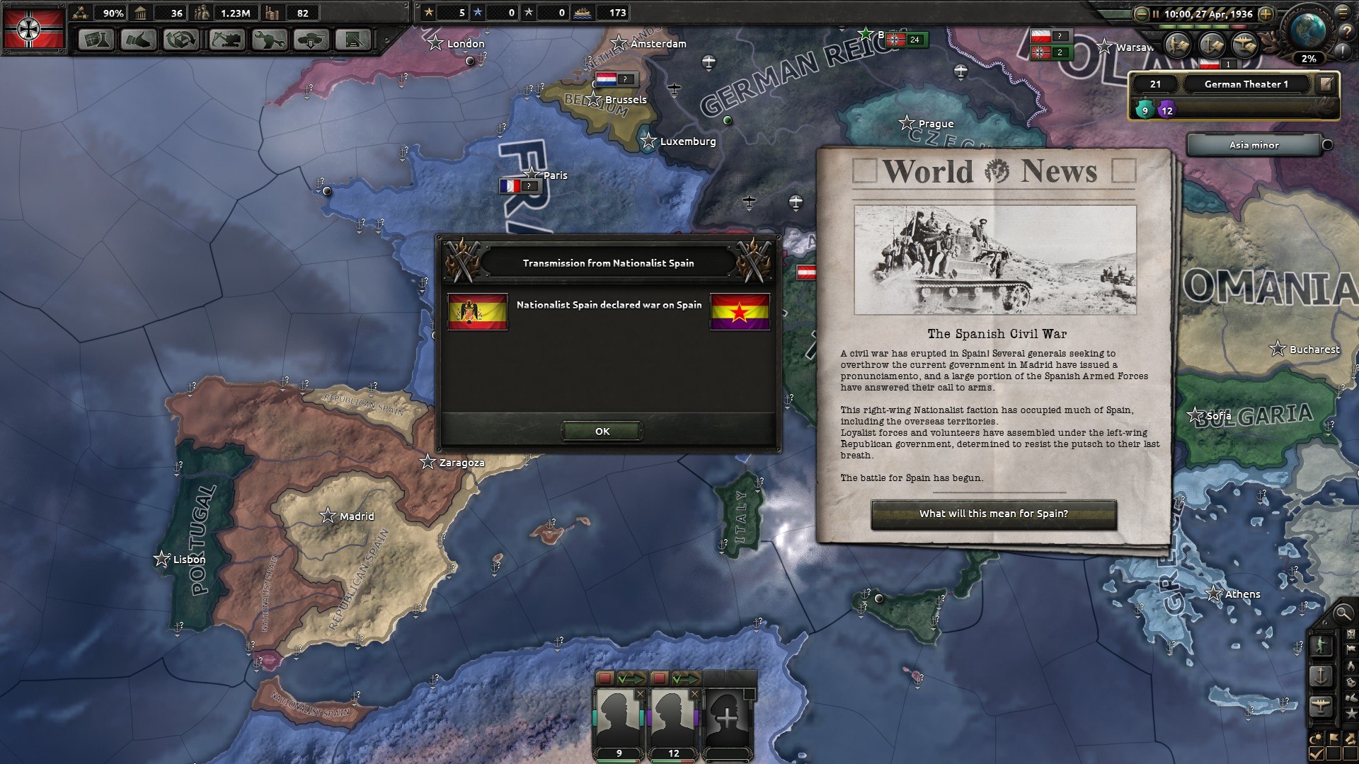 HOI4 Germany AAR- Definitely Not Forgiven - Species ALRE Forums