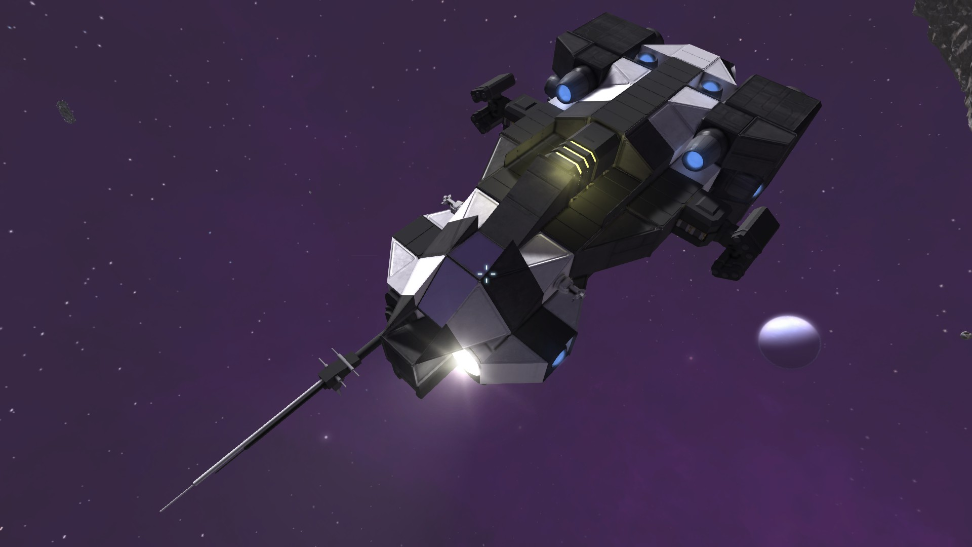 Hey engineers! show off your minimalist large ships