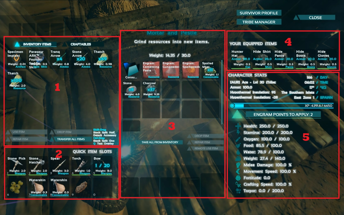 Ark Set Crafting Cost