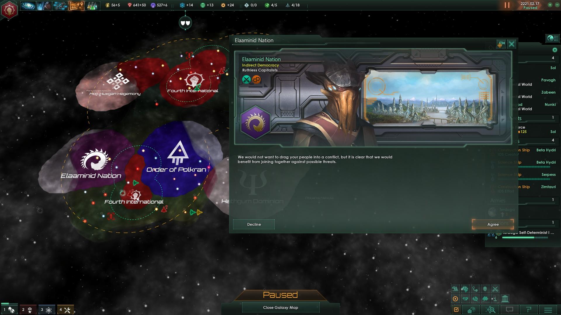 Stellaris AAR- Definitely Not A Finished Revolution - Species ALRE