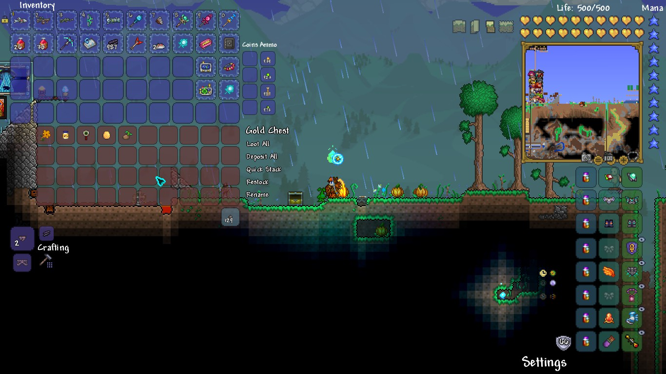 Pc 5 different vanity summons terraria community forums for Fish finder terraria
