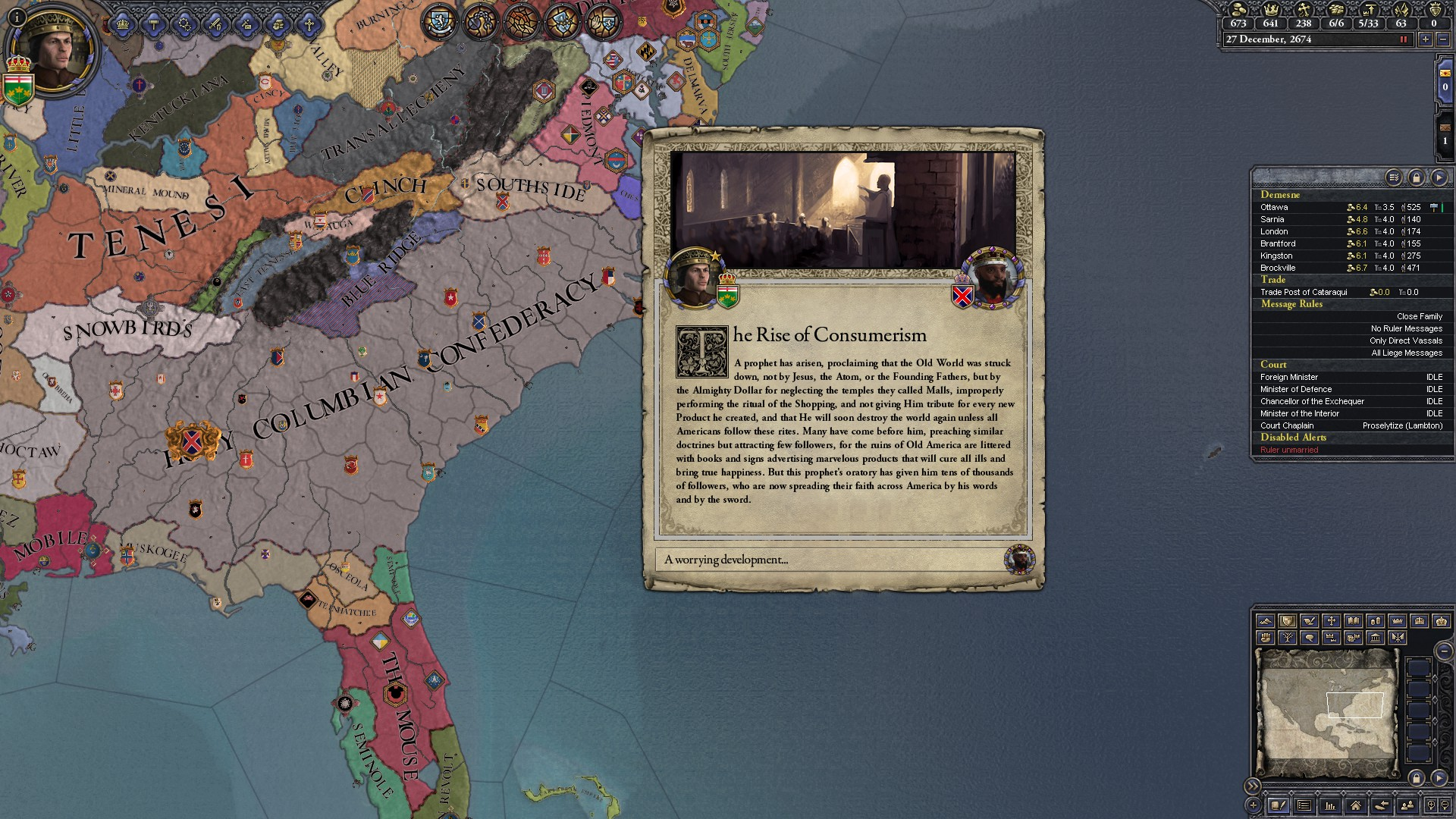 CK2 After The End AAR- Definitely Not Europe - Species ALRE Forums