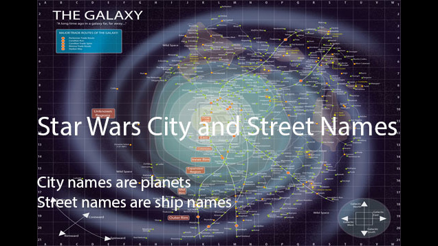 Star Wars City and Street names - SKYMODS