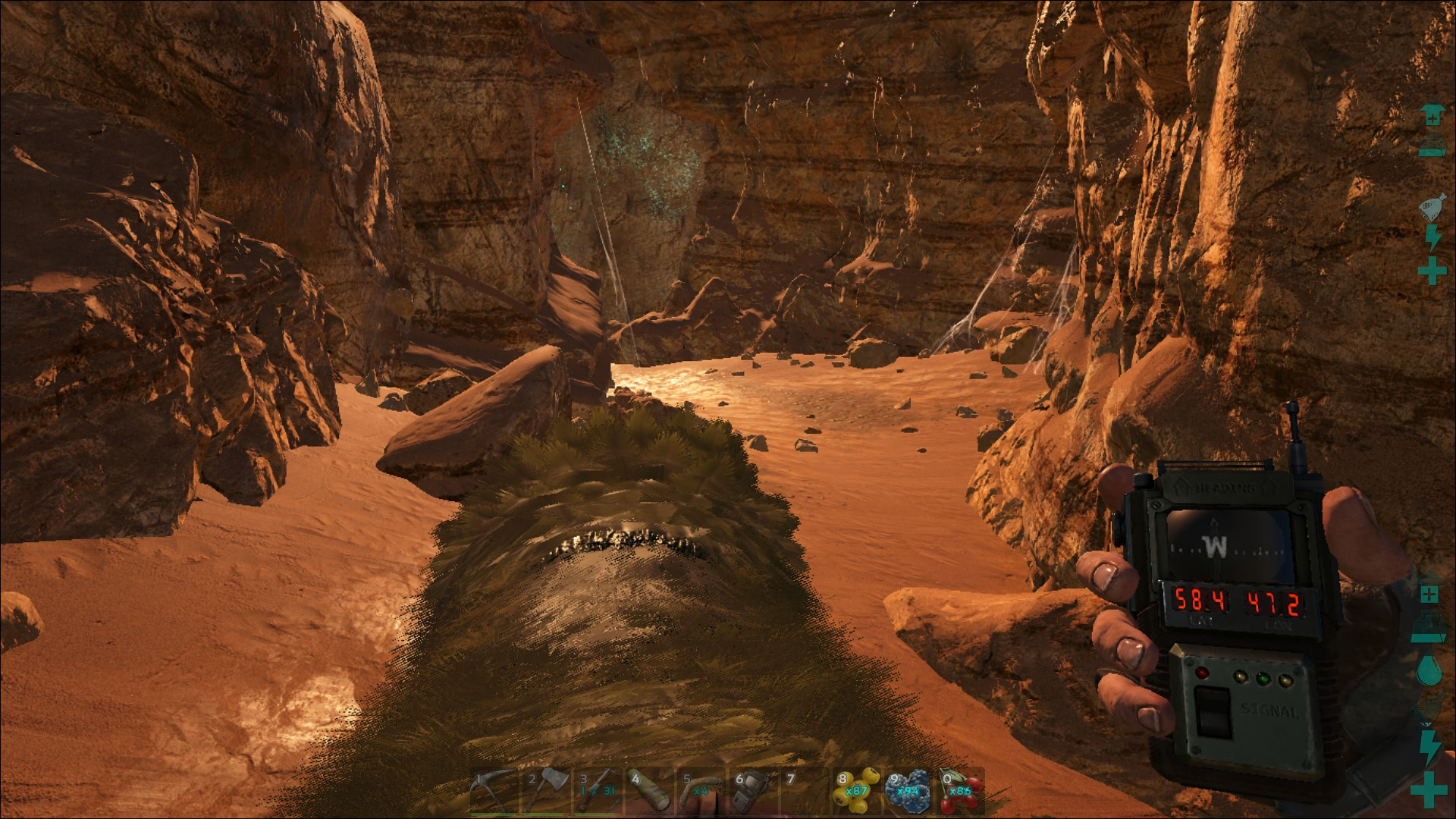 Scorched Earth Cave & Artifact Locations - General - ARK