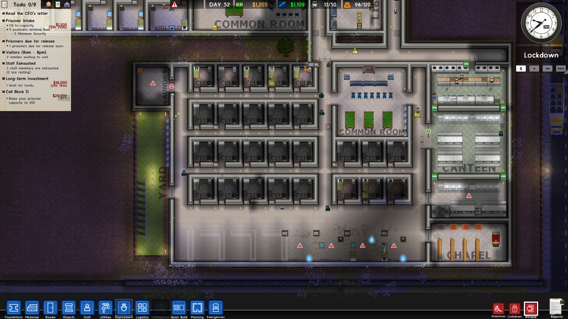 Prison Architect Cell Failed Bunk Bed