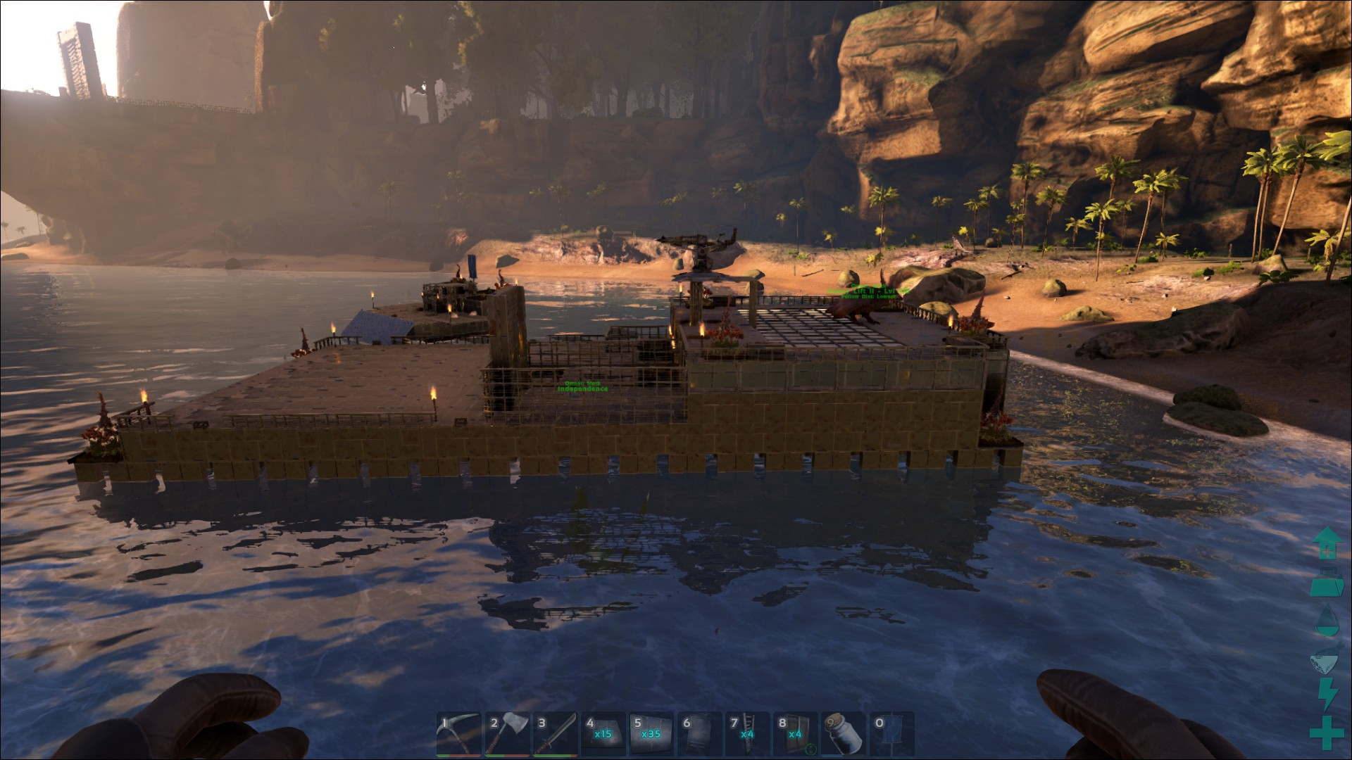 ark how to build on raft